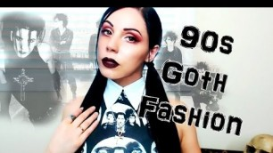 Guide to 90's Gothic Fashion, Brands & My thoughts on 40 Years of Goth Style