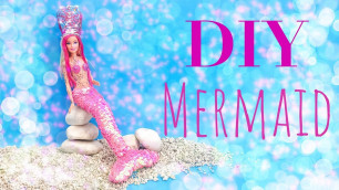 'DIY Barbie Mermaid Doll Handmade Clothes - How To Do It Yourself'