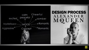Fashion Design Process of Famous Designers │ Alexander McQueen