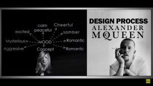 Fashion Design Process of Famous Designers │ Alexander McQueen